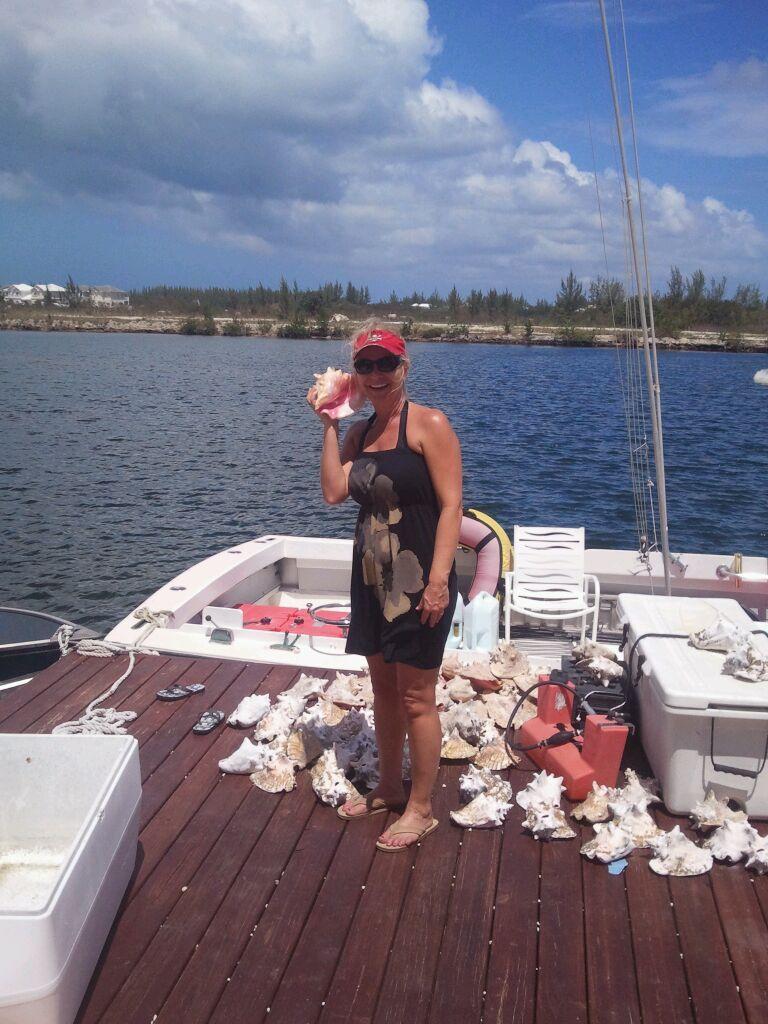Can you hear me now?  Beautiful Cayman conch shells.